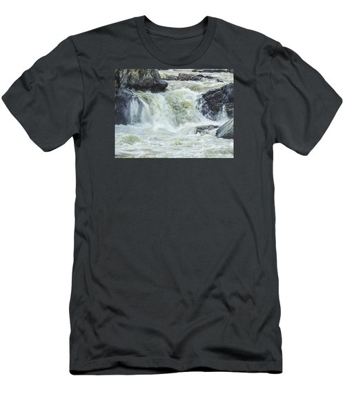 Great Falls Of The Potomac Men's T-Shirt (Athletic Fit)