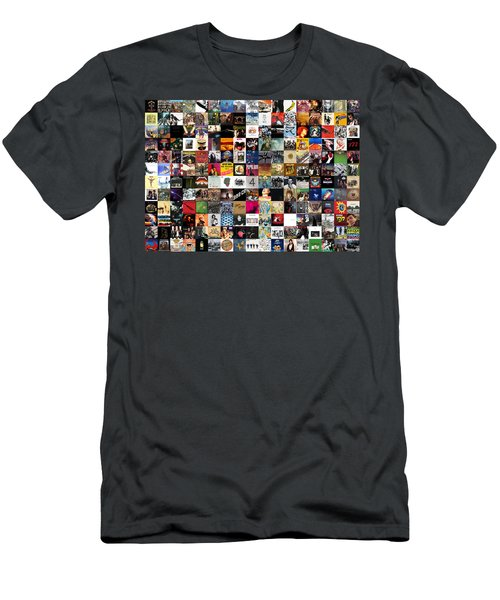 Greatest Rock Albums Of All Time Men's T-Shirt (Athletic Fit)