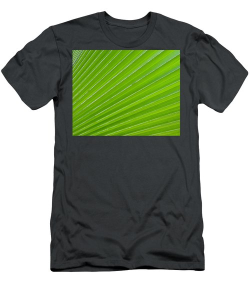 Green Abstract No. 1 Men's T-Shirt (Athletic Fit)