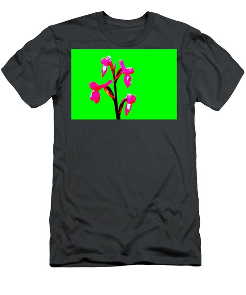 Green Champagne Orchid Men's T-Shirt (Athletic Fit)