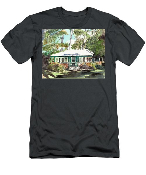 Green Cottage Men's T-Shirt (Athletic Fit)
