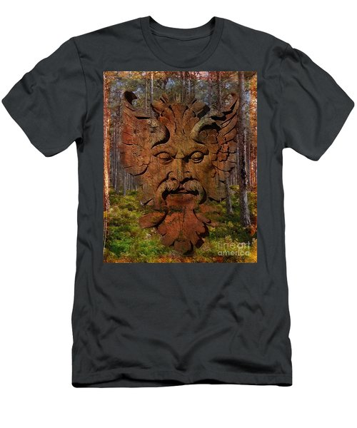 Green Man Of The Forest 2016 Men's T-Shirt (Athletic Fit)