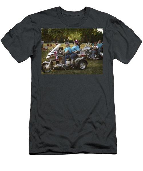 Green Sunglasses Men's T-Shirt (Athletic Fit)