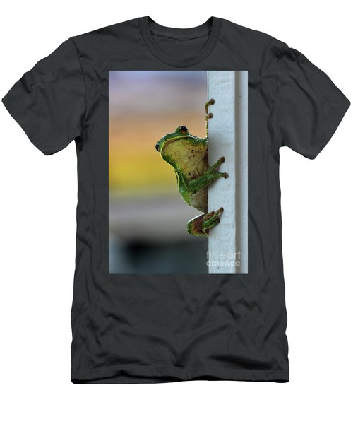 Green Tree Frog  It's Not Easy Being Green Men's T-Shirt (Athletic Fit)