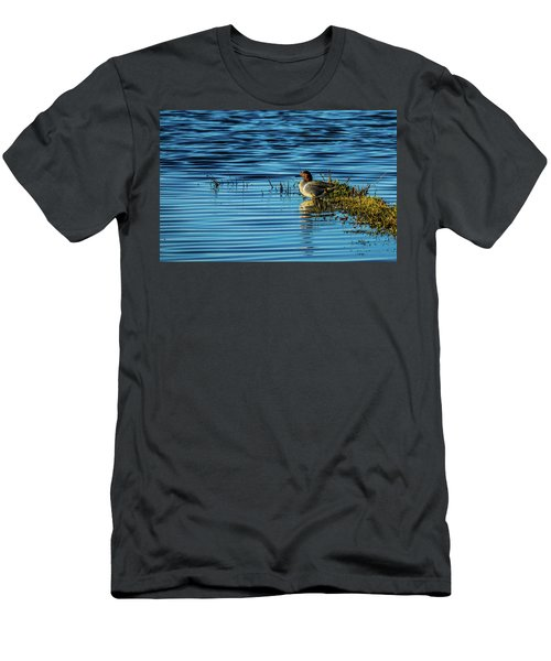 Green-winged Teal Men's T-Shirt (Athletic Fit)