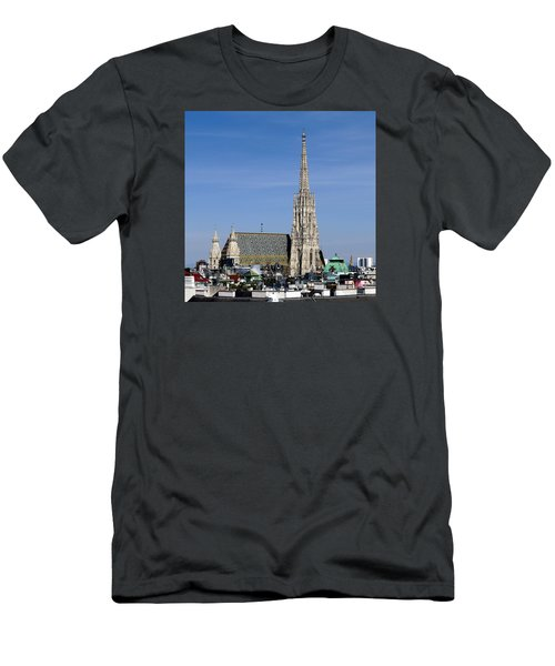 Greetings From Vienna Men's T-Shirt (Athletic Fit)