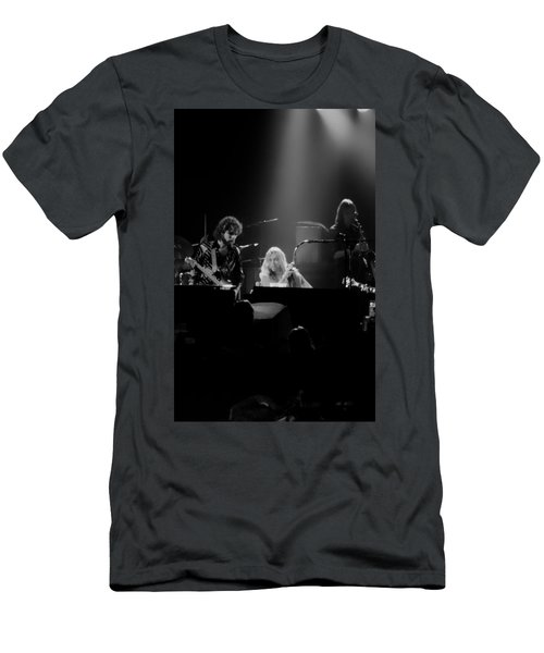 Greg Allman  Men's T-Shirt (Slim Fit) by Kevin Cable