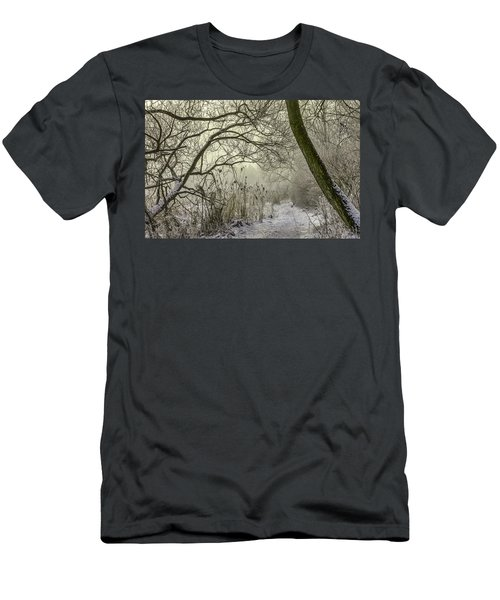 Grey Day #h1 Men's T-Shirt (Athletic Fit)