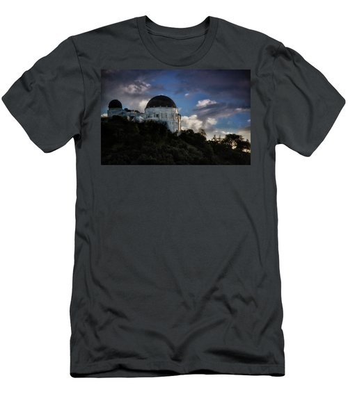 Men's T-Shirt (Slim Fit) featuring the photograph Griffith Observatory by Joseph Hollingsworth