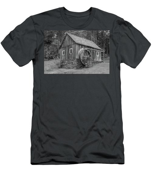 Men's T-Shirt (Athletic Fit) featuring the photograph Grist Mill by Guy Whiteley