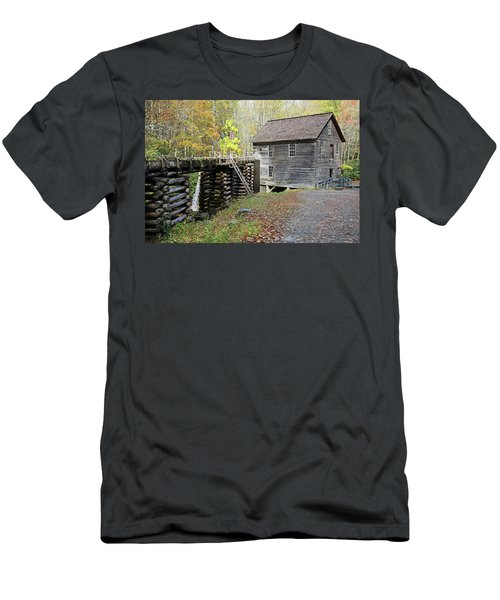 Grist Mill Men's T-Shirt (Slim Fit) by Lamarre Labadie