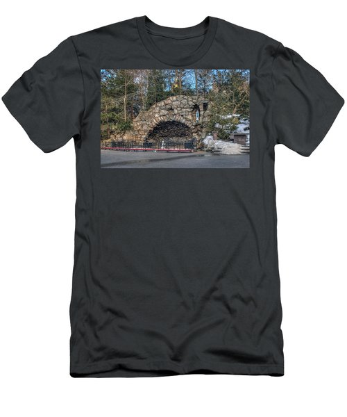 Grotto At Notre Dame University Men's T-Shirt (Athletic Fit)