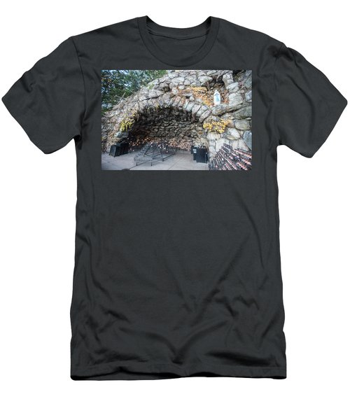 Grotto Of Our Lady Of Lourdes 2 Men's T-Shirt (Athletic Fit)