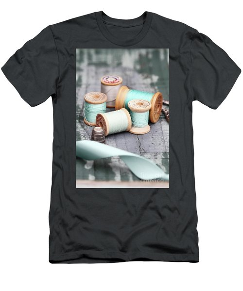 Group Of Vintage Sewing Notions Men's T-Shirt (Athletic Fit)