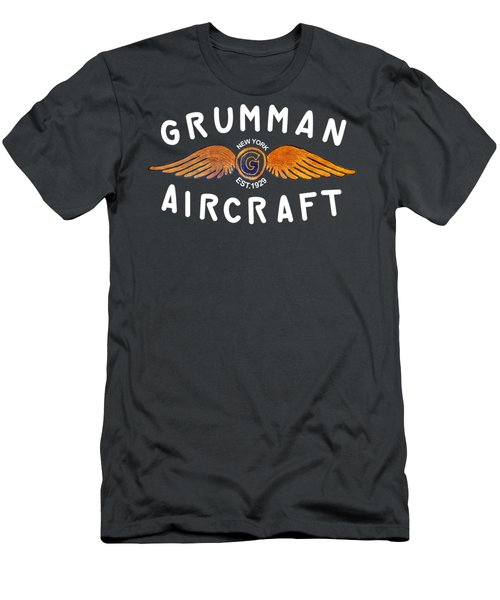 Grumman Wings Gold Men's T-Shirt (Athletic Fit)