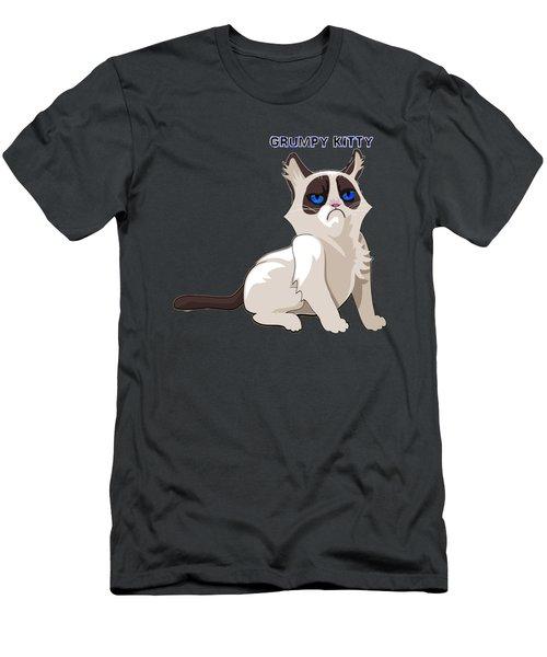Grumpy Cat Men's T-Shirt (Athletic Fit)