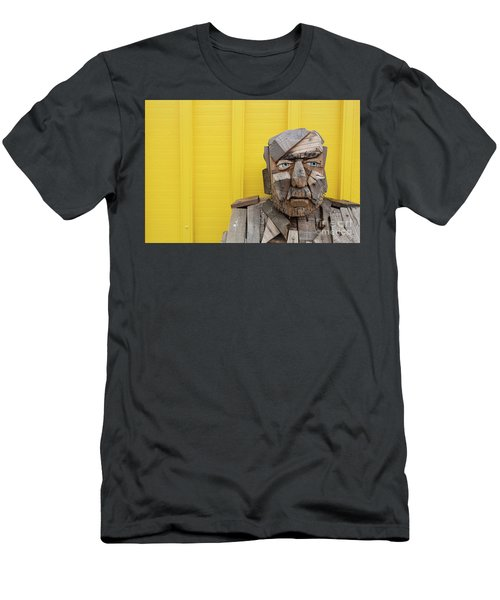 Men's T-Shirt (Athletic Fit) featuring the photograph Grumpy Old Man by Edward Fielding