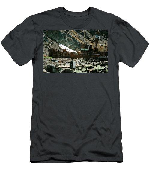 Grytviken Sentinel Men's T-Shirt (Athletic Fit)