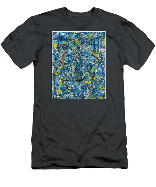 Guadalupe Visits Pollack Men's T-Shirt (Slim Fit)