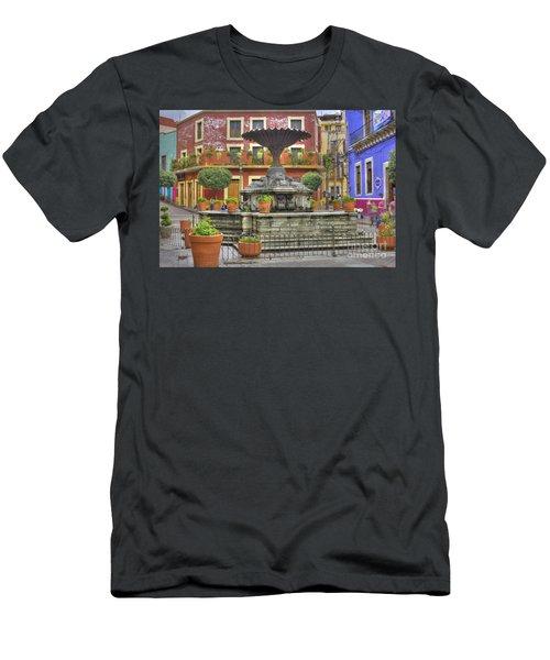 Guanajuato Mexico Men's T-Shirt (Athletic Fit)