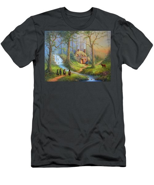 Guardian Of The Forest Men's T-Shirt (Athletic Fit)
