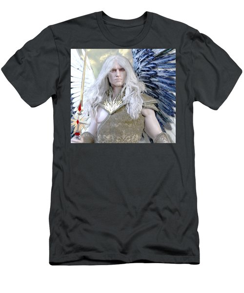 Guardian Men's T-Shirt (Slim Fit) by Suzanne Silvir