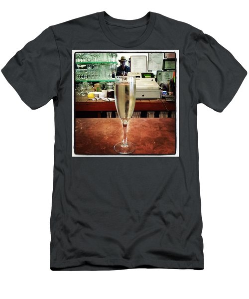 Men's T-Shirt (Athletic Fit) featuring the photograph Guess What Guess Where? by Mr Photojimsf