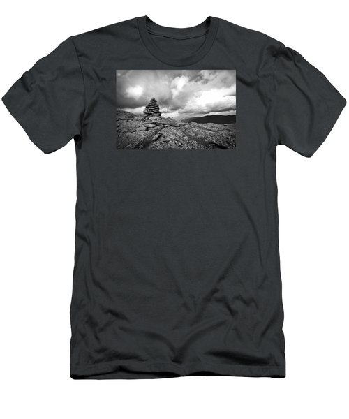 Guide In The Clouds Men's T-Shirt (Slim Fit) by Michael Hubley
