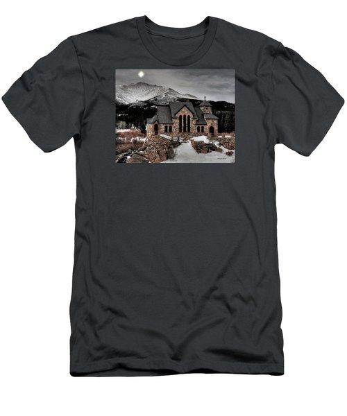 Guiding Light Over Saint Malo Men's T-Shirt (Slim Fit) by Stephen  Johnson