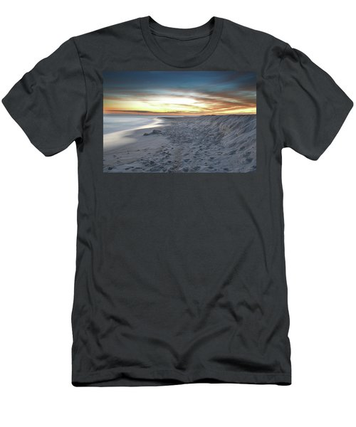Men's T-Shirt (Slim Fit) featuring the photograph Gulf Island National Seashore by Renee Hardison