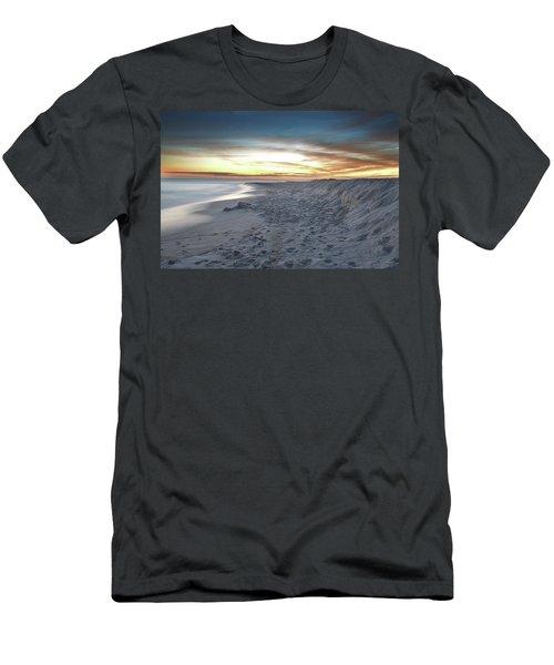 Gulf Island National Seashore Men's T-Shirt (Slim Fit) by Renee Hardison