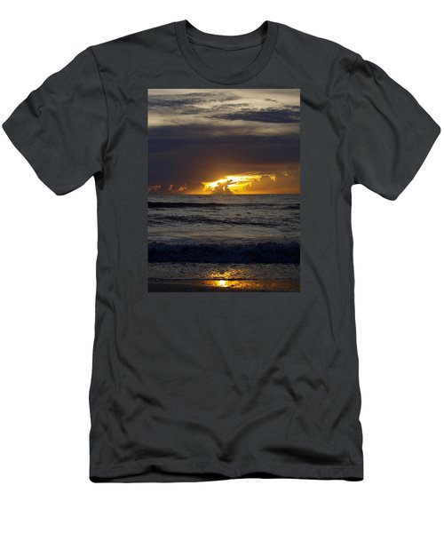 Gulf Sunset Men's T-Shirt (Athletic Fit)