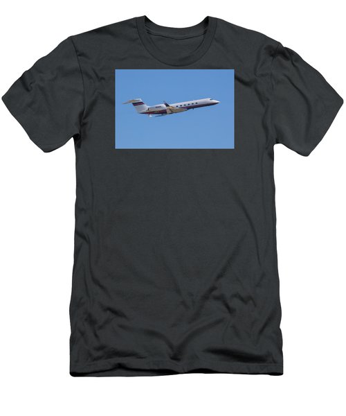 Gulfstream Gv Private Jet Men's T-Shirt (Athletic Fit)