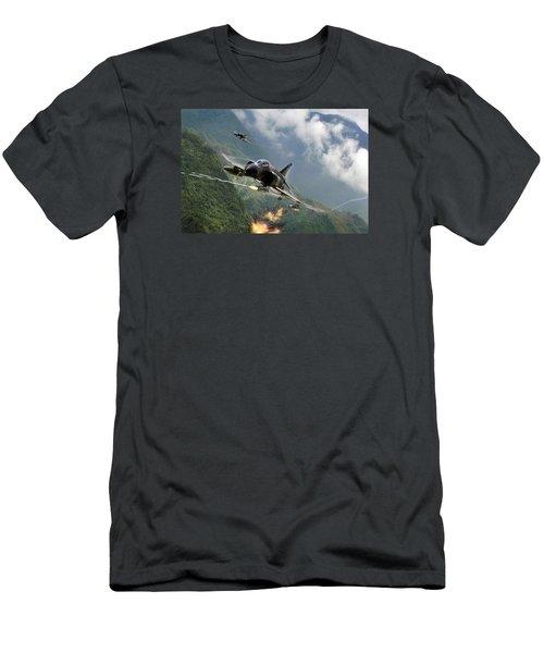 Gunfighters Men's T-Shirt (Athletic Fit)