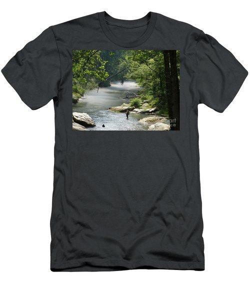 Gunpowder Falls  Men's T-Shirt (Athletic Fit)