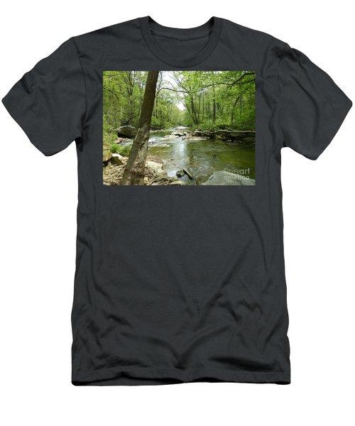 Gunpowder Falls - Ncr Trail Men's T-Shirt (Athletic Fit)
