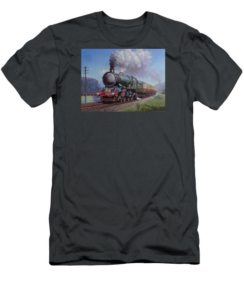 Gwr King On Dainton Bank. Men's T-Shirt (Slim Fit) by Mike  Jeffries