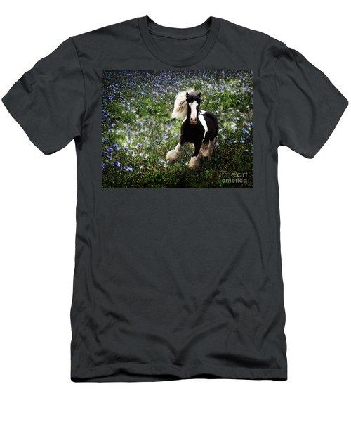 Men's T-Shirt (Athletic Fit) featuring the digital art Gypsy Garden by Melinda Hughes-Berland