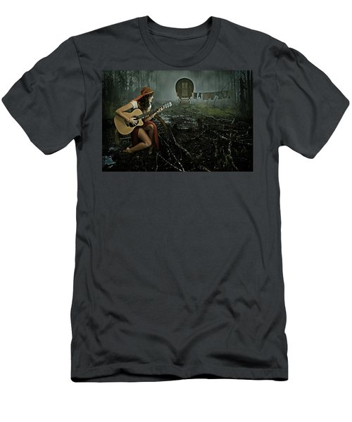 Gypsy Life Men's T-Shirt (Athletic Fit)