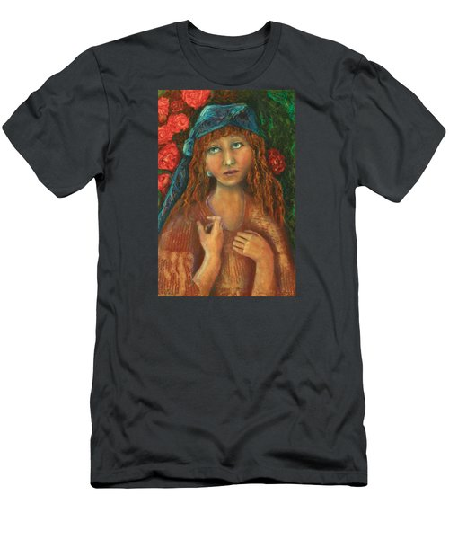 Gypsy Men's T-Shirt (Slim Fit) by Terry Honstead