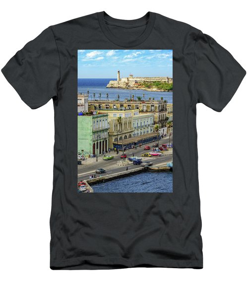 Men's T-Shirt (Athletic Fit) featuring the photograph Habana Havana  by Steven Sparks