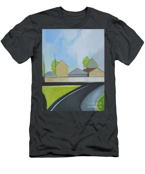 Hackensack Exit Men's T-Shirt (Athletic Fit)