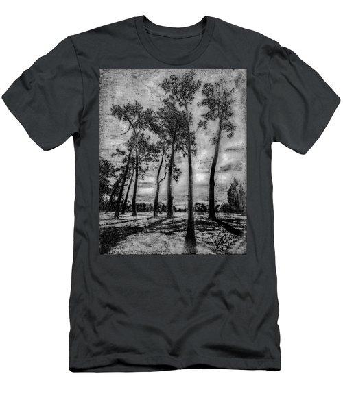 Hagley Park Treescape Men's T-Shirt (Athletic Fit)