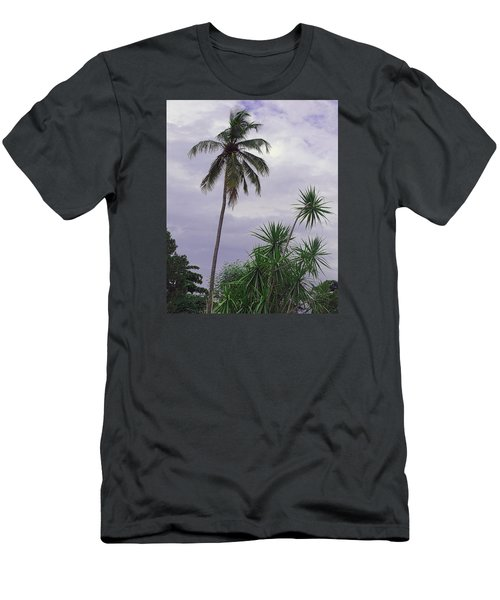 Men's T-Shirt (Slim Fit) featuring the photograph Haiti Where Are All The Trees by B Wayne Mullins