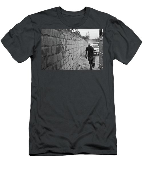 Haitian Missionary Men's T-Shirt (Athletic Fit)