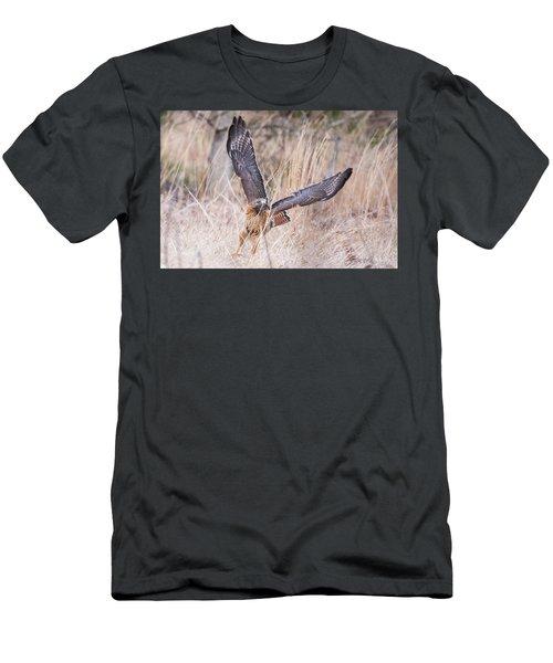 Hal Picking Up Dinner Men's T-Shirt (Athletic Fit)