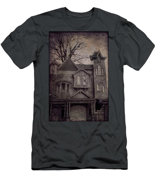 Halloween In Old Town Men's T-Shirt (Athletic Fit)