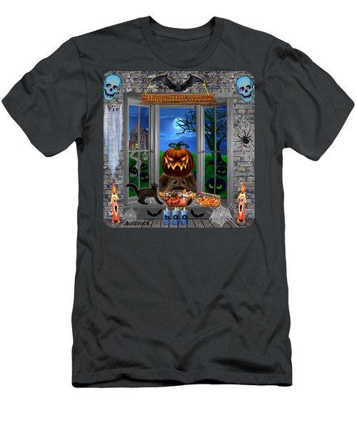 Halloween Night Stalker Men's T-Shirt (Athletic Fit)