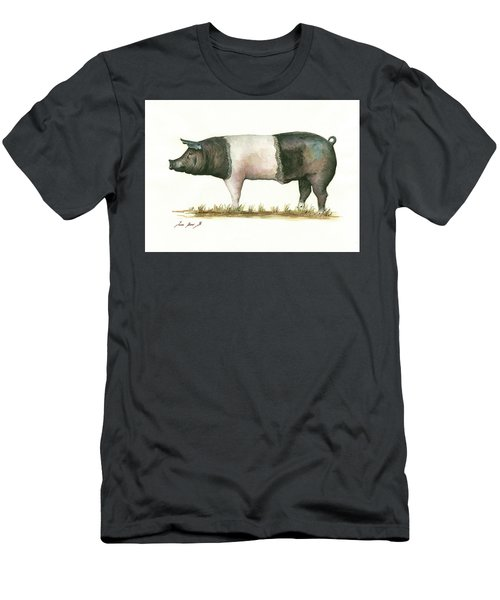 Hampshire Pig Men's T-Shirt (Athletic Fit)
