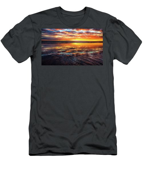 Hampton Beach Men's T-Shirt (Athletic Fit)